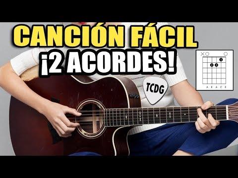 Canción Fácil para Principiantes En Guitarra Acústica ¡Solo 2 Acordes! | CORAZON ESPINADO (MANÁ)