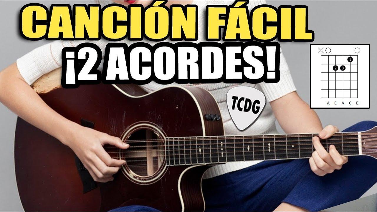 Canción Fácil Para Principiantes En Guitarra Acústica Solo 2 Acordes Corazon Espinado Maná Youtube