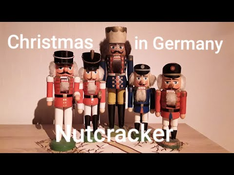 Christmas In Germany   -   Old Handmade Nutcracker From The German Ore Mountain ( Erzgebirge )