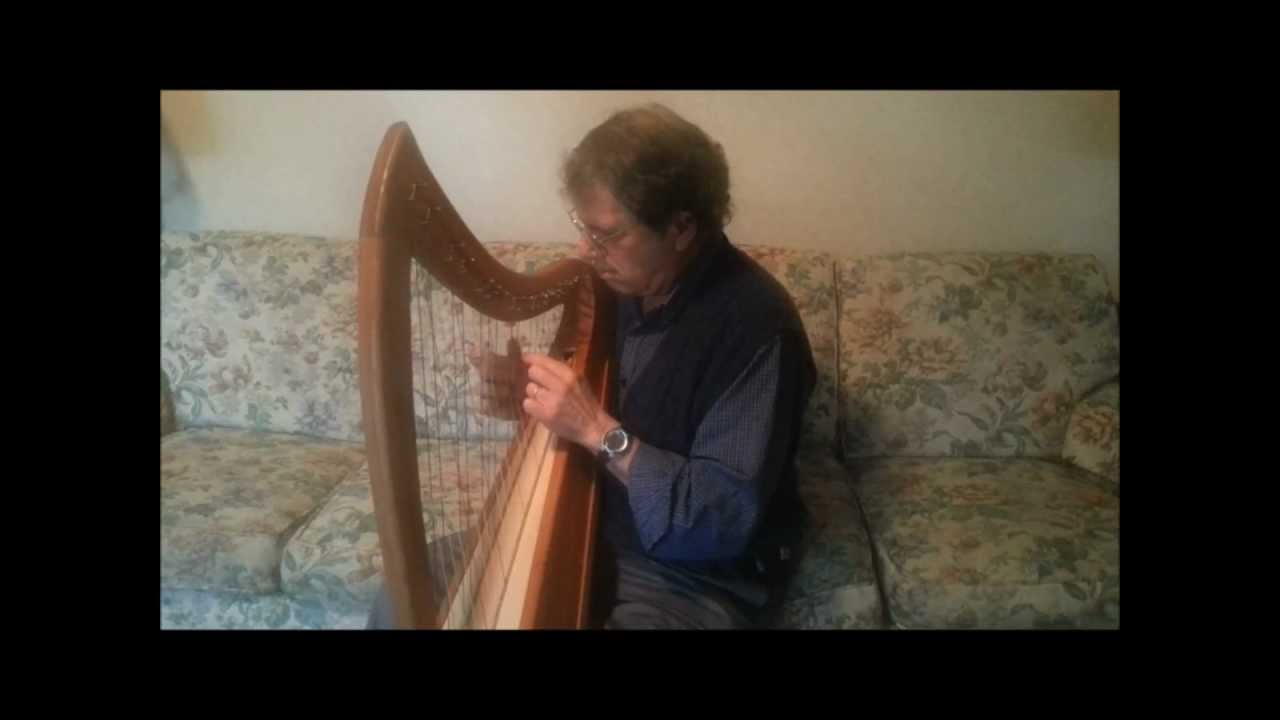 The Water Kelpie played on cross-strung harp - YouTube