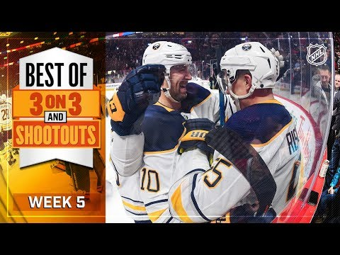 Best 3-on-3 OT and Shootout Moments from Week 5