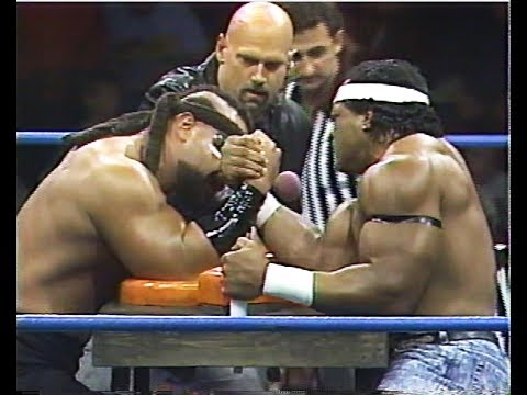 Arm Wrestling: Barbarian Vs. Ron Simmons [1992-12-05]