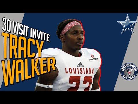 brand new 156e8 7527a Dallas Cowboys 30 Visit Tracy Walker, S, Louisiana Lafayette ...