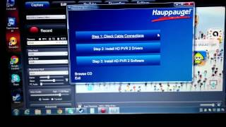 How To Set Up Hauppauge HD PVR 2 Gaming Edition With Wii U (Working)
