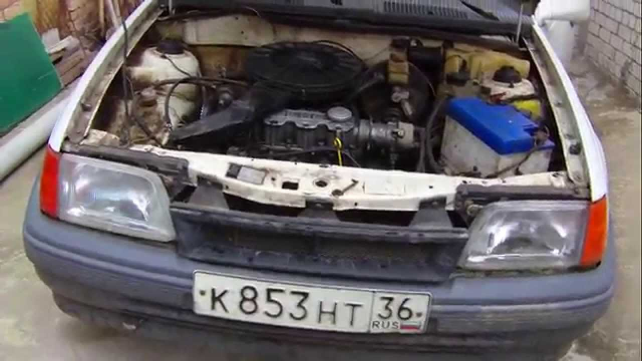 Opel Kadet 1.4 i start - YouTube