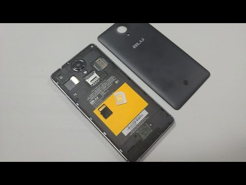 BLU R1 HD How To Remove Replace Back Cover & Install SIM Card, Insert Memory Card