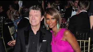 Iman met David Bowie on a blind date