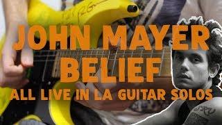 Baixar John Mayer - Belief (ALL GUITAR SOLOS) (LIVE IN LA) | Darryl Syms Cover