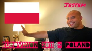"EUROVISION 2011 POLAND REACTION - 41st place ""Jestem"" Magdalena Tul"