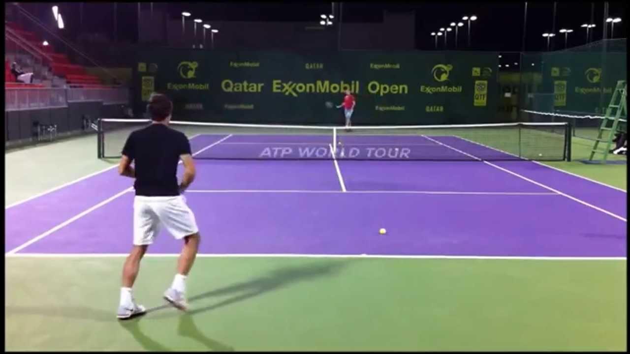 Federer Training