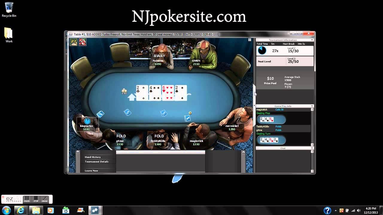 Nj online poker site reviews