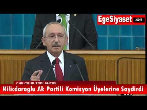 Kemal Kılıçdaroğlu AK Partili 9 İsme Saydırdı