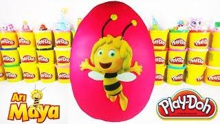 Arı Maya Dev Sürpriz Yumurta | Arı Maya Oyun Hamuru Sürpriz Yumurta