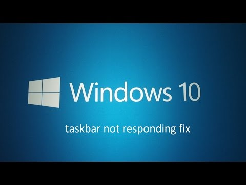 ASMR - Windows 10 taskbar not responding fix