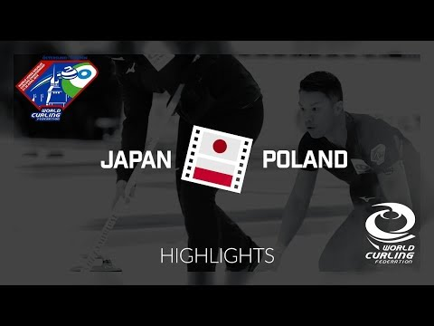 HIGHLIGHTS: Japan v Poland - World Mixed Doubles Curling Championship 2018