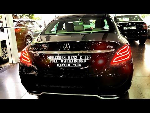 Mercedes Benz C 220 CDI 2017 Walkaround Review
