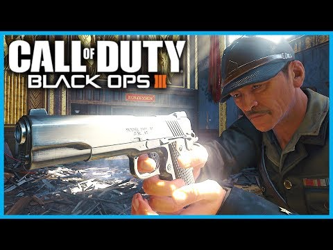 """BLACK OPS 3 ZOMBIES """"M1911"""" vs ROUND 100 ZOMBIES! w/ TheRelaxingEnd (BO3 1911 Gameplay)"""