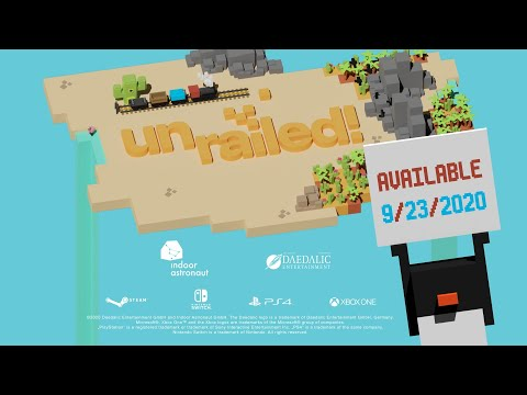 Unrailed! - Out Now on PC and Consoles!