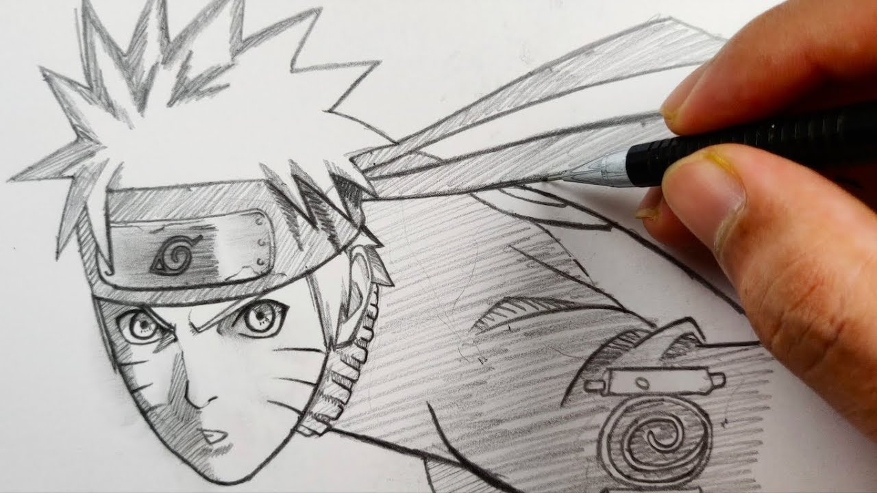The Line Art Challenge : One line art challenge drawing naruto for hrs straight youtube