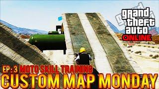 Gta 5 Custom Map Monday: Moto Skill Training Ep.3 (gta 5 Custom Maps)