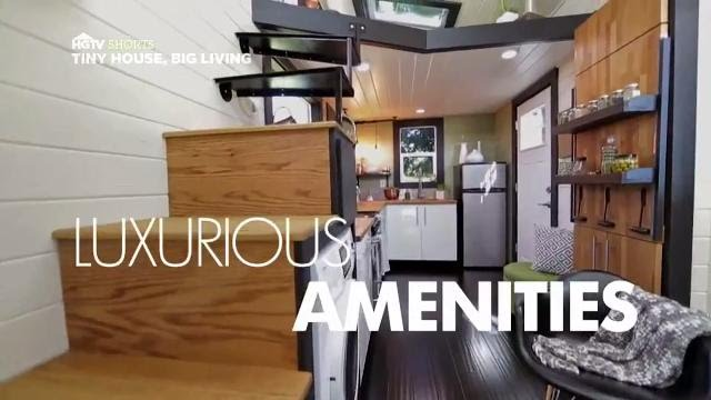 Luxurious amenities tiny house big living hgtv asia youtube