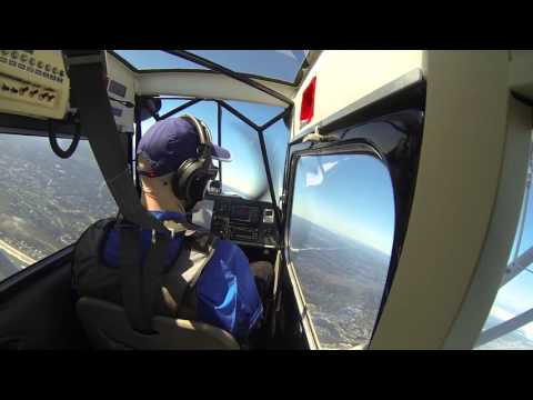 Patty Wagstaff Aerobatic School Confidence Course Flight 1, Part 1