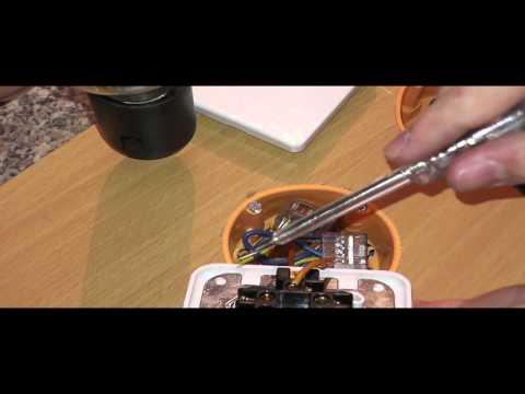 Elektroinstallation Teil 4 Einen Schalter Anschließen