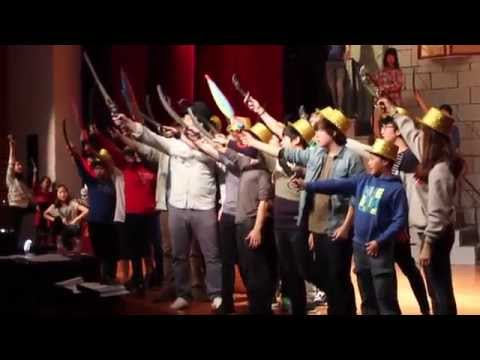 The Pirates of Penzance: make-up video