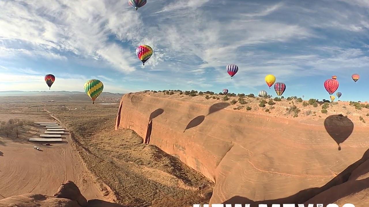Red Rock Balloon Rally, in TRUE 360º