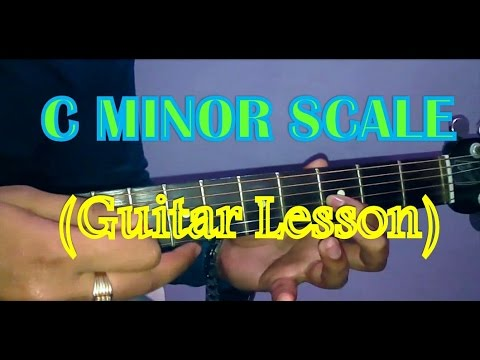 C Minor Scale Guitar Tutorial- Easy Beginners Guitar Lesson- Vikas ...