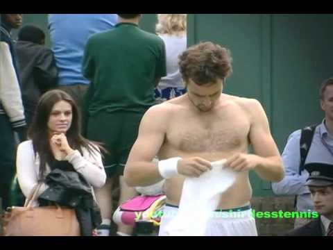 Shirtless Ernests Gulbis Being Checked Out By The Ladies