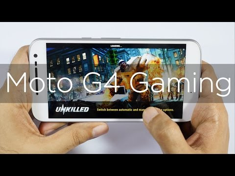 Moto G4 Gaming Review with Heavy Games & Heating Check