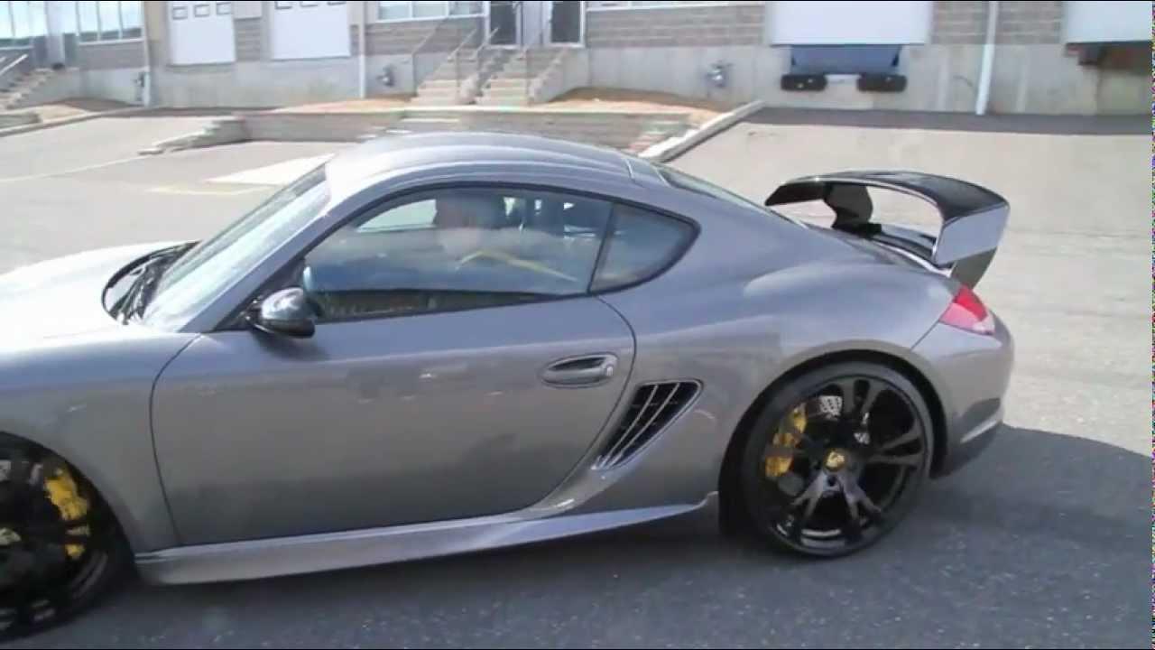 Techart Cayman S Turbo Loud Acceleration Youtube