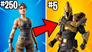 RANKING EVERY FORTNITE SKIN OF 2019 FROM WORST TO BEST!