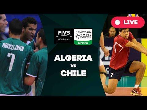 Algeria v Chile - 2016 Men's World Olympic Qualification Tournament