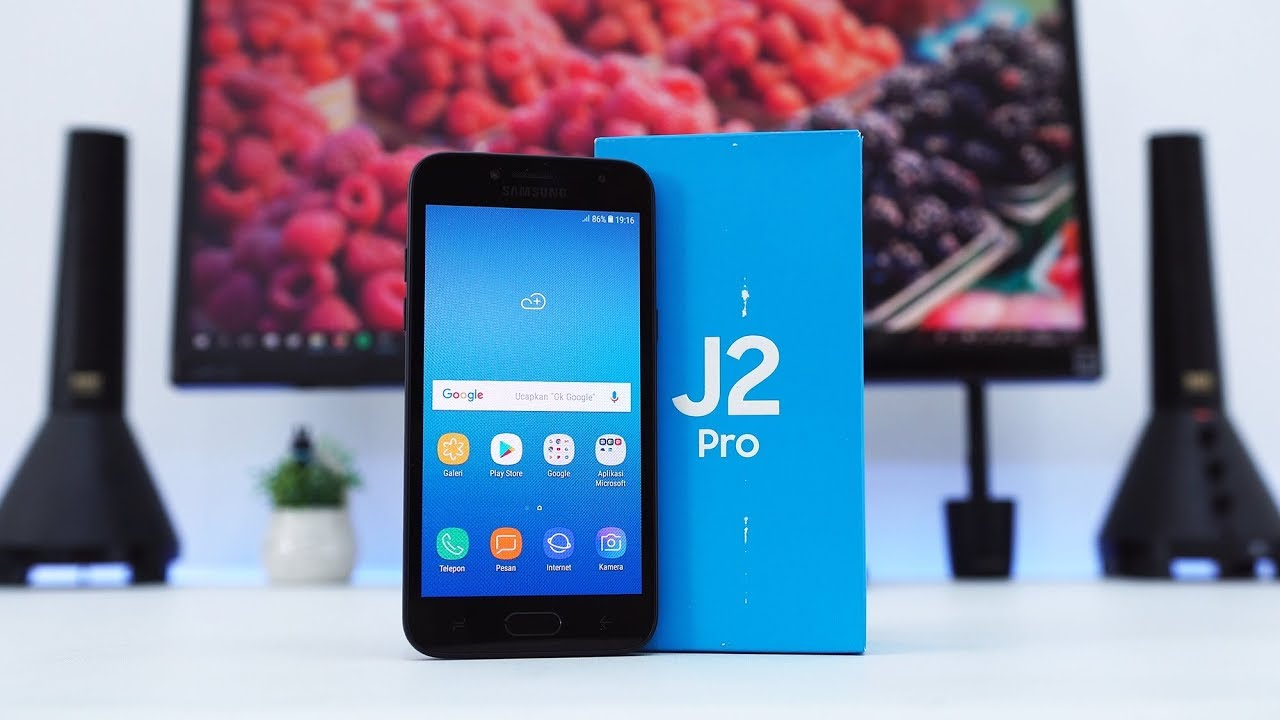 Hands On Samsung Galaxy J2 Pro Indonesia Youtube