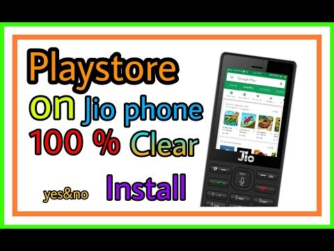 Jio Phone Me Playstore Install Karen#androidcitychannel,by Androidcity//Android City