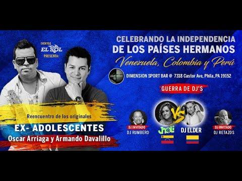 Eventos EL SOL Presenta: Concierto de La Independencia. Jueves, 22 de Julio, Puertas abren @ 9PM.