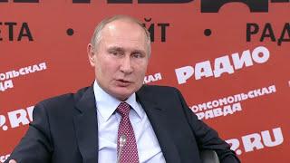 Putin: It