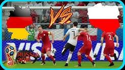 STARKER GEGNER IM VIERTELFINALE!!! DEUTSCHLAND VS POLEN FIFA 18 WM MODUS [DEUTSCH]