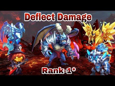Deflect Damage  | Rank - 1* | Area Damage - Immune To Energy Reduction | Set Up | Castle Clash