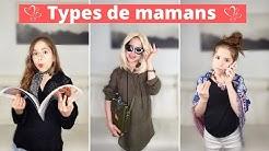 Les différents types de mamans 😂😅💕// KIARA PARIS 🌷
