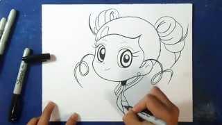 Comment dessiner Bubble - Powerpuff Girls Z