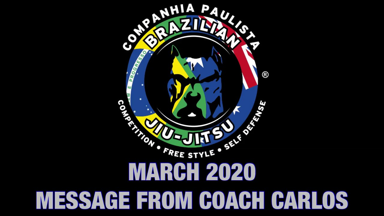 CPA BJJ Message from Coach Carlos Vieira - CIA PAULISTA AUSTRALIA