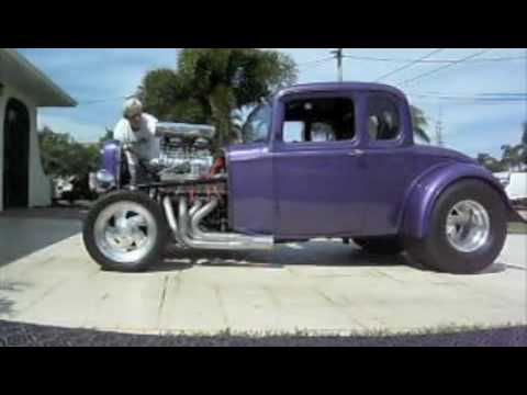 1932 5 window coupe all steel blown big block chevy youtube for 1932 chevrolet 5 window coupe