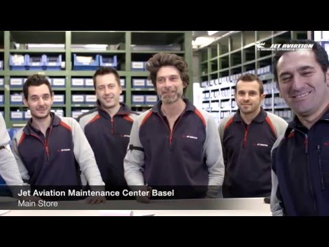 Jet Aviation Maintenance Center Basel Staff