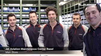Jet Aviation Maintenance Center Basel Staff