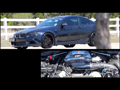 650HP Supercharged VF Engineering BMW E92 M3 | Gintani Race Exhaust!