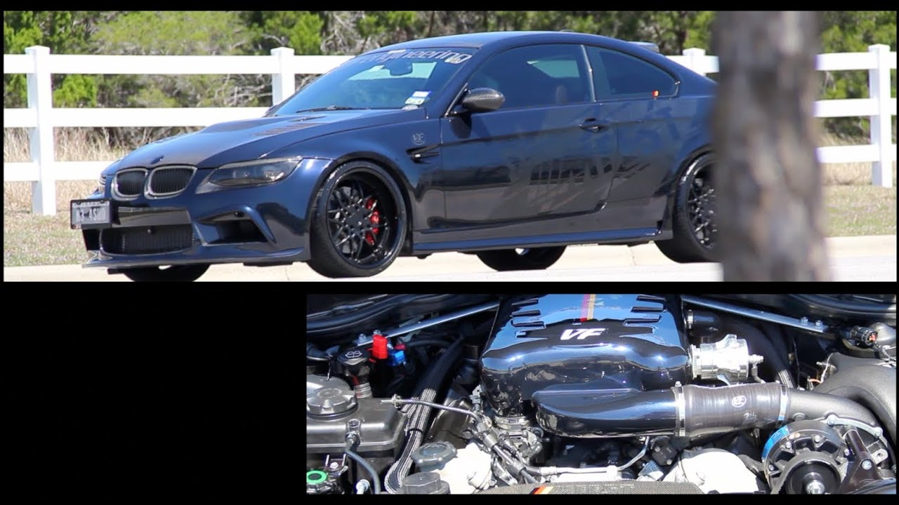 650HP Supercharged VF Engineering BMW E92 M3  Gintani Race