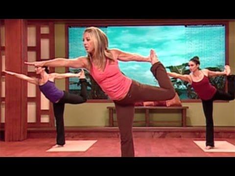 Denise Austin Yoga Cardio Burn Workout Youtube